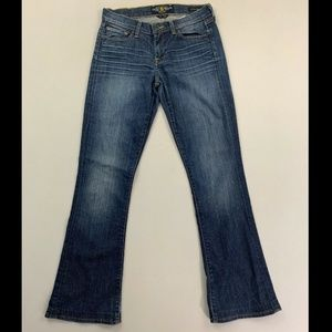 Lucky Brand Women's Blue Sofia Boot Jeans Size 4